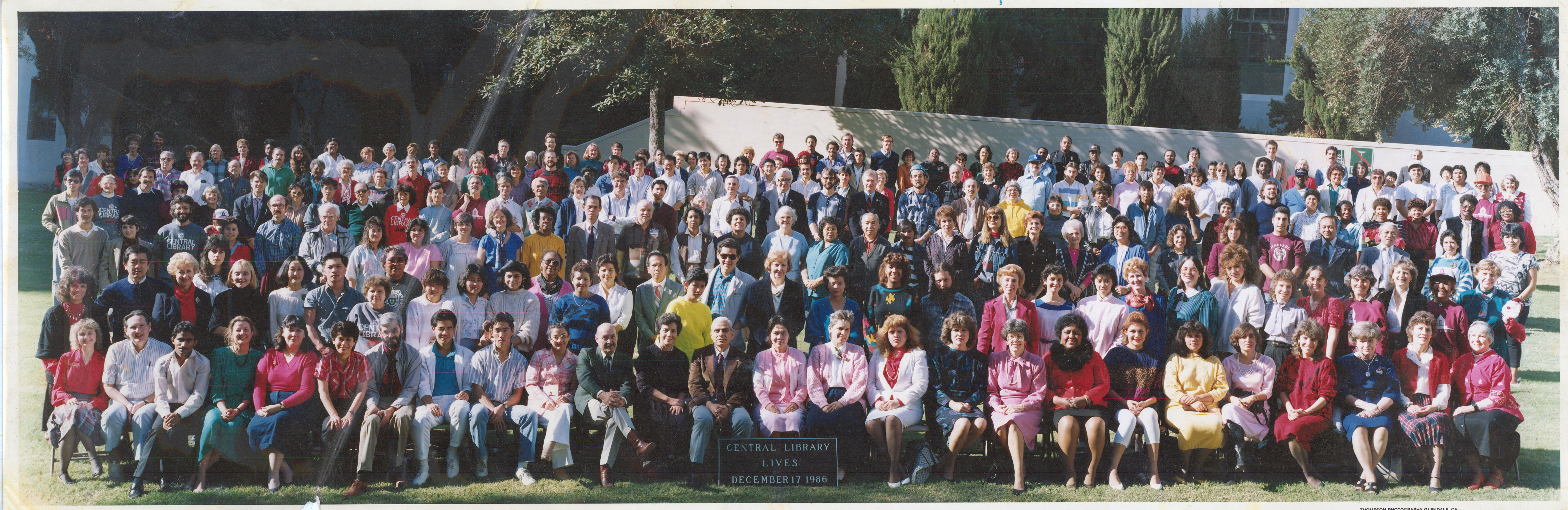 Image Central Library Class Photo