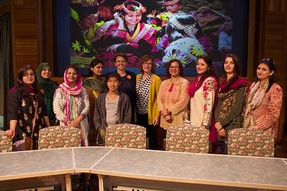 CTF scholars, Jennifer Lee, Linda Rudell-Betts, Dr. Munazza Yaqoob