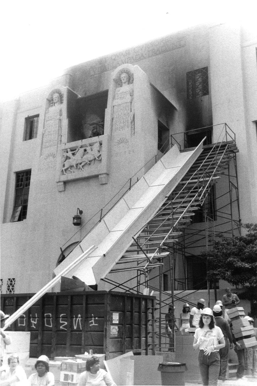 Central Library Slide