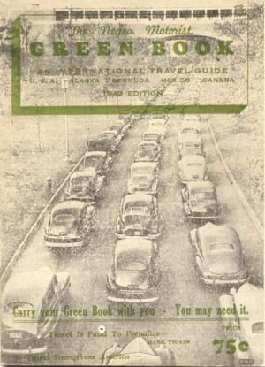 Cover of 1949 Negro Motorist Green Book
