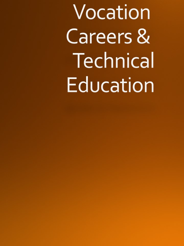 Vocation, Careers & Technical Education Logo