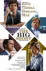 Four men sit at desks. Movie posters.