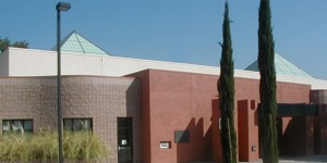 Exterior view of the Sunland - Tujunga Library