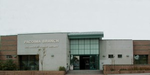 Exterior view of the Pacoima branch