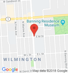 Map for Wilmington Branch