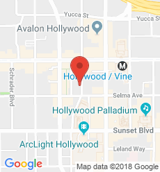 Map for Hollywood Branch