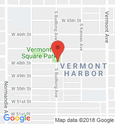 Map for Vermont Square Branch