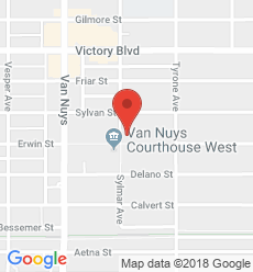 Map for Van Nuys  Branch