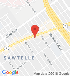 Map for West Los Angeles Branch