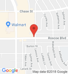Map for Panorama City  Branch
