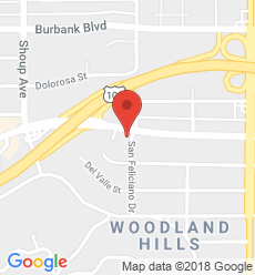 Map for Woodland Hills Branch