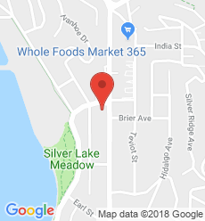 Map for Silver Lake Branch