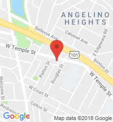 Map for Echo Park  Branch
