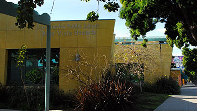Exterior view of the Mar Vista branch
