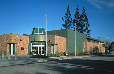 Exterior view of the Northridge branch