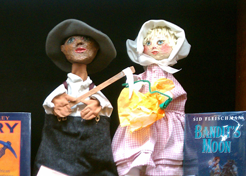 two of the focal puppets