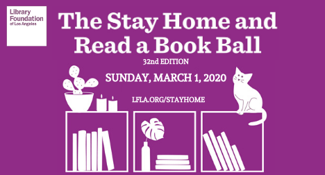 The Stay Home and  Read a Book Ball