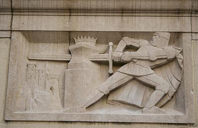 Lawrie's storybook sculptures decorated the original 1926 Children's Garden