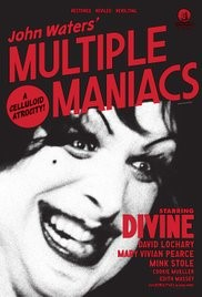 Movie Poster for Multiple Maniacs