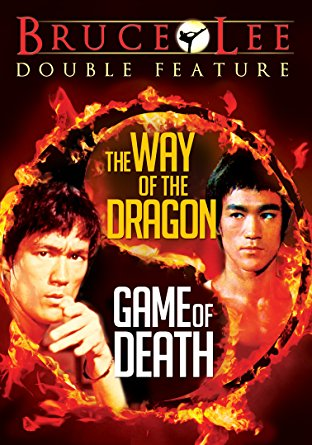 bruce lee double feature dvd cover way of the dragon game of death