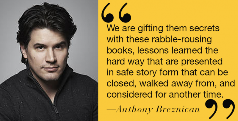 Banned Books Week 2015 Anthony Breznican