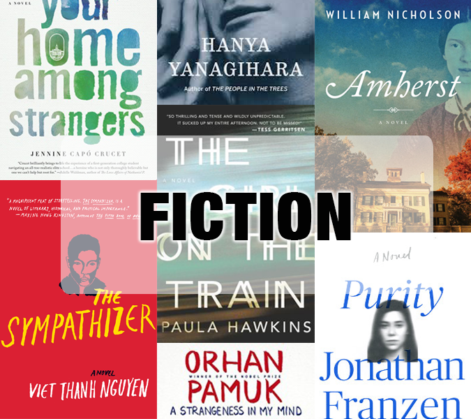 Best fiction books of 2015