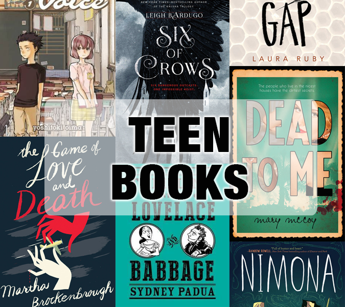 Best teen books of 2015