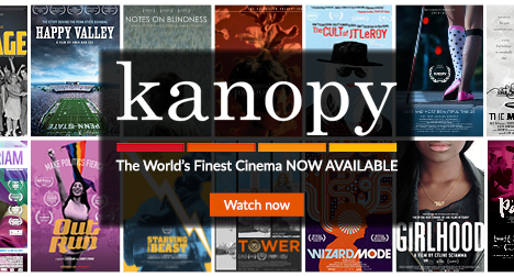 Selection of films now showing on Kanopy