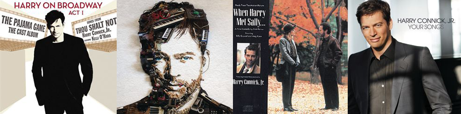 Some Harry Connick, Jr.'s album covers