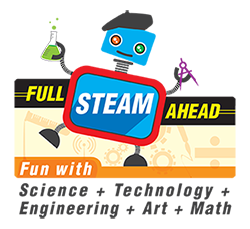 Full STEAM Ahead Logo