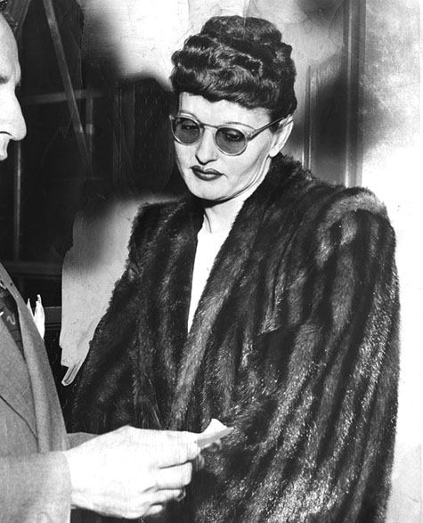 May 12, 1948  Asserted 'Queen Bee' In Court - Mrs. Marie Mitchell, alias Brenda Allen