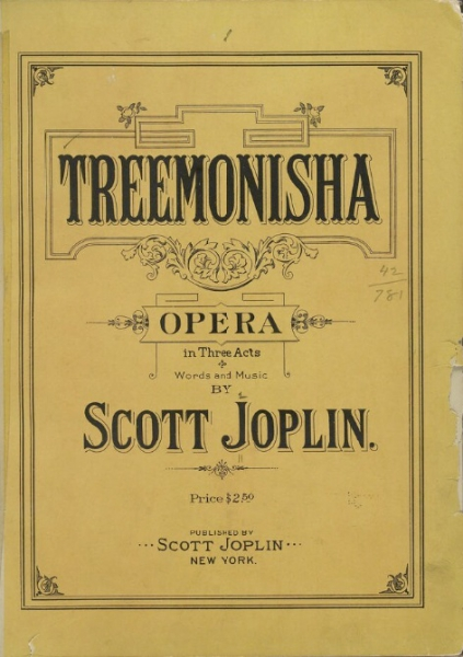 Piano vocal score to <em>Treemonisha</em> (1911)