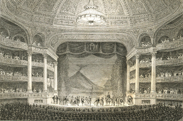 The Paris Opera about 1790