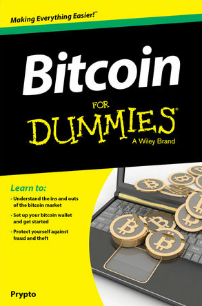 Book cover for Bitcoin for Dummies
