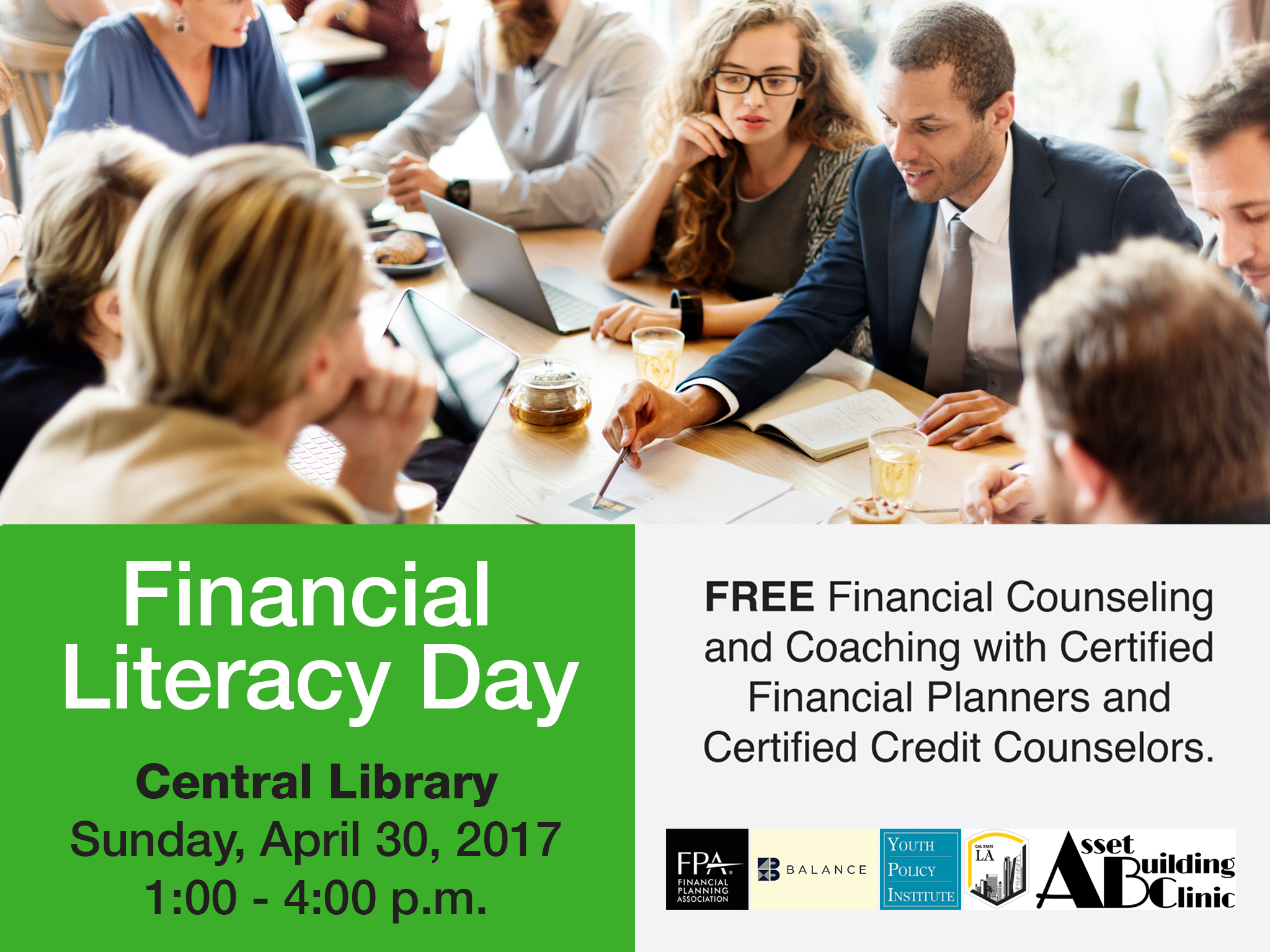 Financial Literacy Day at central Library