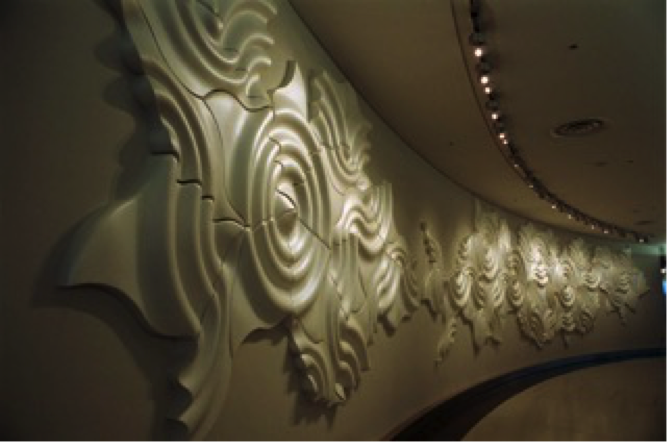 Ann Preston's work at the San Francisco Airport's International Terminal.