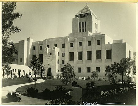 The Los Angeles Central Library in 1926