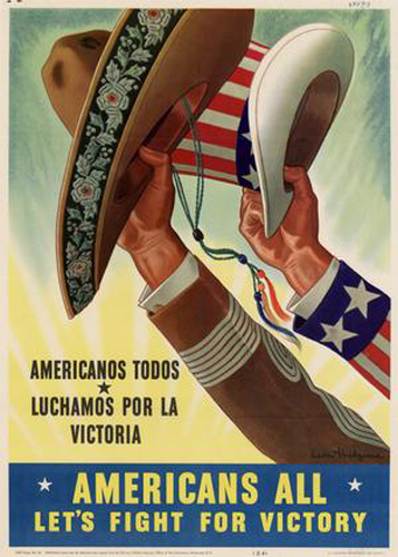 Propaganda poster. Photo courtesy of http://www.nationalww2museum.org/learn/