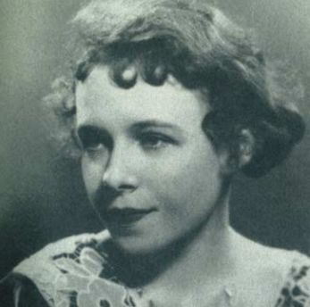 Tennessee's sister Rose, the real-life model for the character of Laura in The Glass Menagerie.