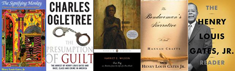 five books by Henry Louis Gates, Jr.