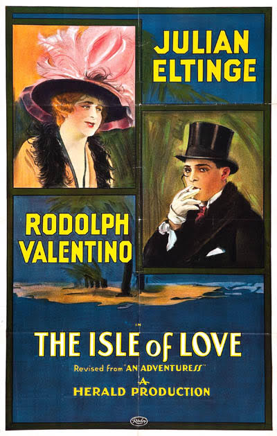 Poster for Isle of Love (1922)