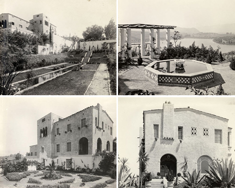 Villa Capistrano following its completion. California History Section Picture Catalog. California State Library.
