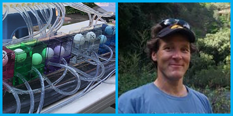 Photo of Anderson's Famous Water Computer, Photo of Glen Anderson