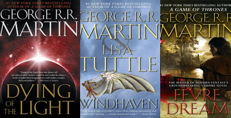 3 George RR Martin book titles