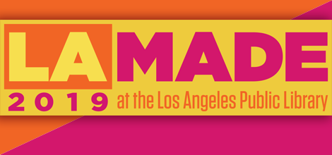 colorful logo for LA Made 2018