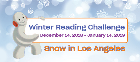 winter reading challenge graphic