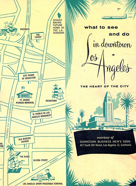 What to see and do downtown 1960