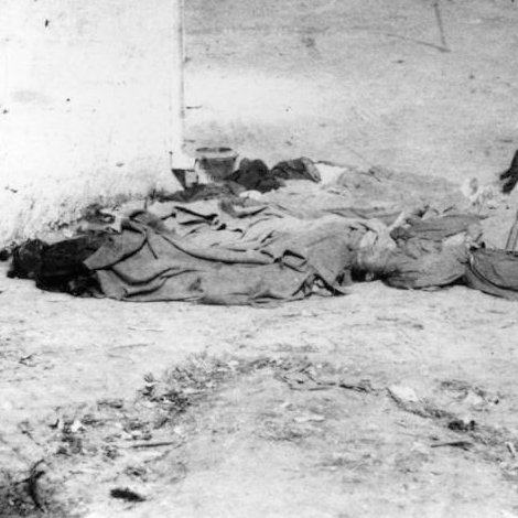 Victims of Chinese Massacre, 1871