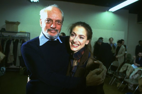 Director Harold Prince with Patti LuPone