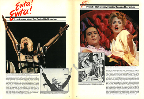 More of the publicity drive: Life Magazine ran a featured story after the play opened on Broadway.